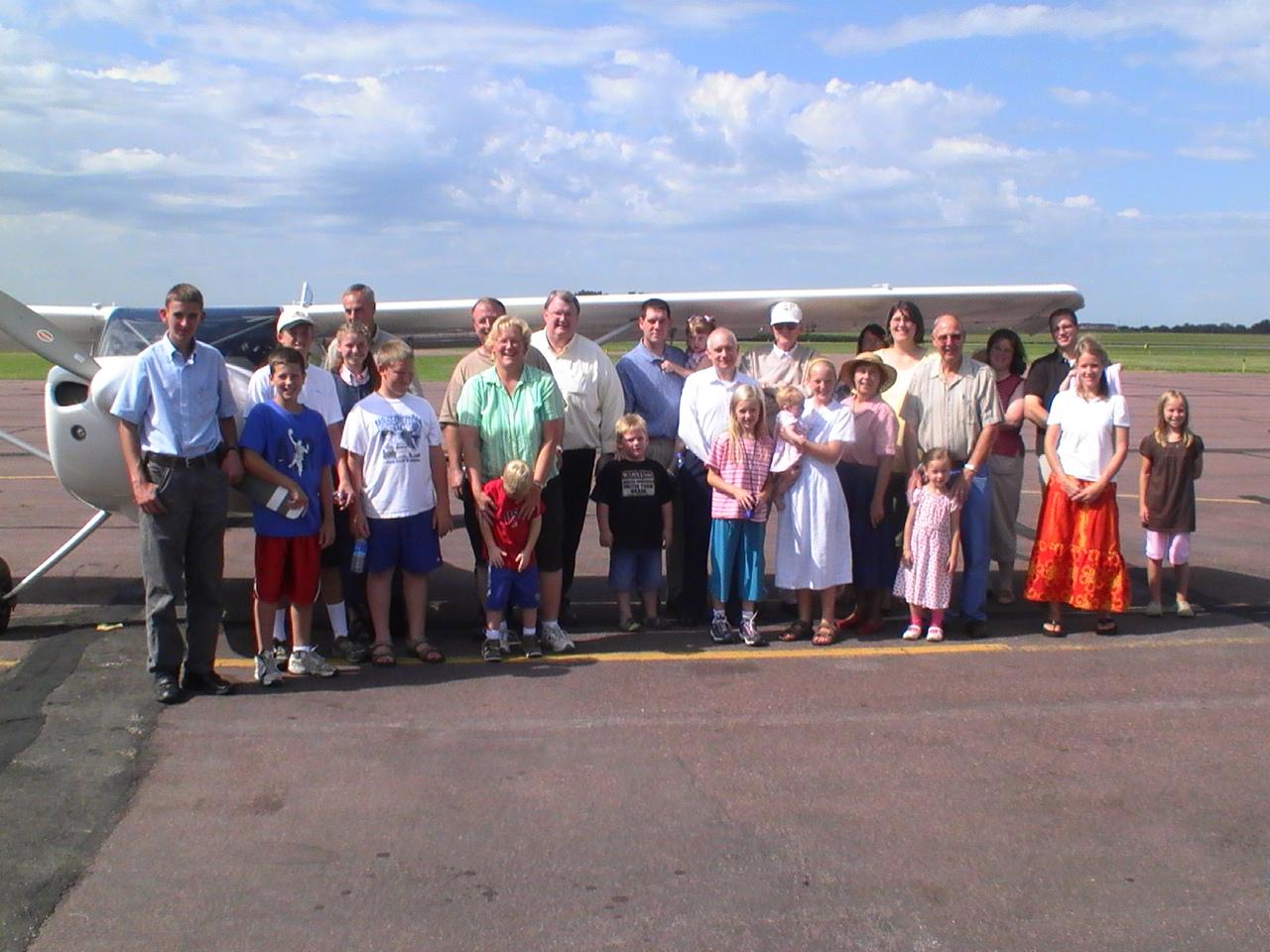 church welcoming Missionary Needham